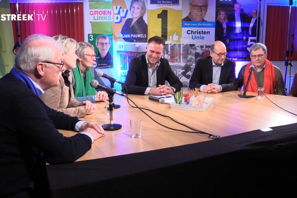 DNO Politiek open discussie op StreekTV (update)