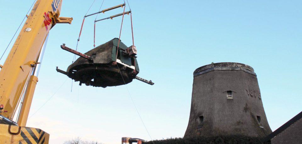Restauratie molen Zuidwolde gestart